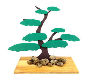 Bonsai en foami
